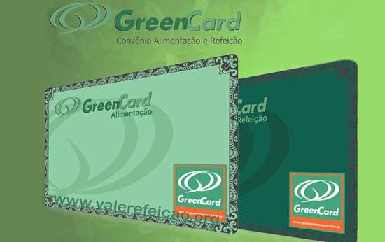 Cartões Green Card