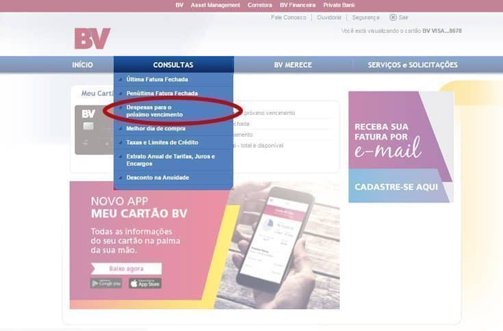 site Minha BV