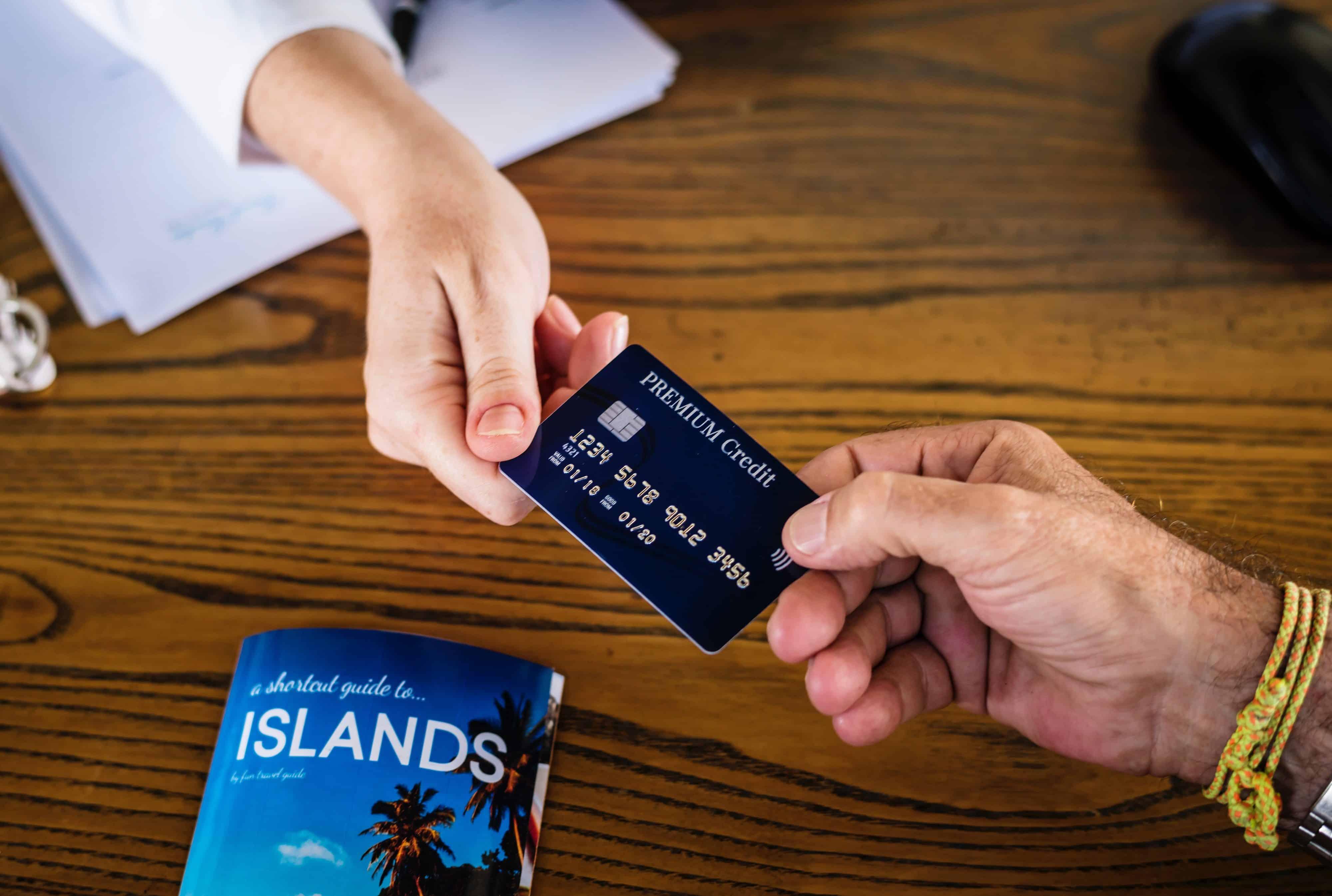 Benefícios para quem possui cartão de crédito
