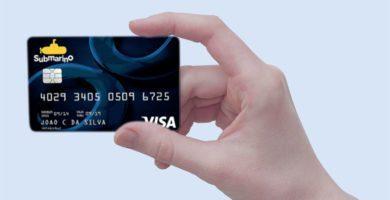 como pedir cartao de credito submarino