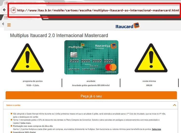 cartao de credito para a Multiplus