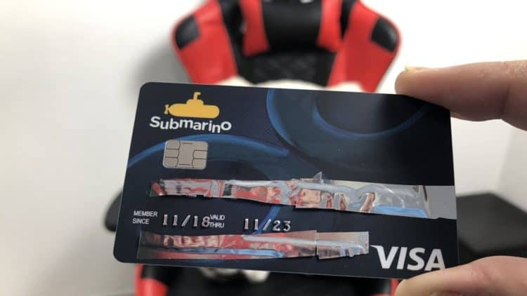 limite cartão submarino