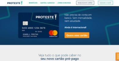 Conheça agora seu Limite do Cartão Proteste!